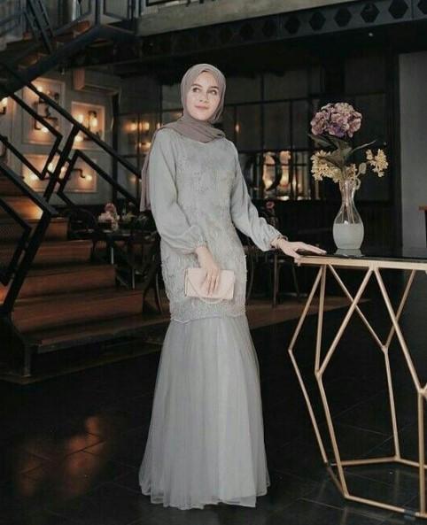 Gamis Hijab Pesta Pernikahan Gamis