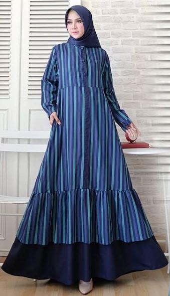 16 Model Gamis Untuk Orang Gemuk Gamis