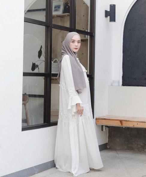32 Model Baju Gamis Lebaran Terbaru 2019 Gamis