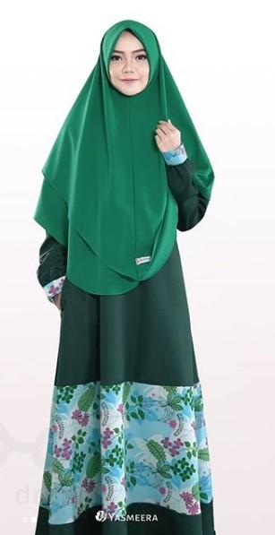 Tips Mix and Match Baju Muslim Warna Hijau dengan Berbagai