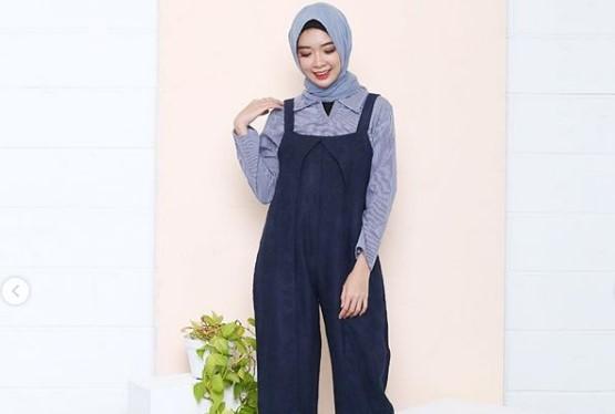 13 Koleksi Baju Muslim Jumpsuit Modis