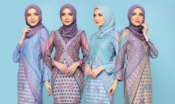 22 Koleksi Baju Muslim Batik Modern 2019