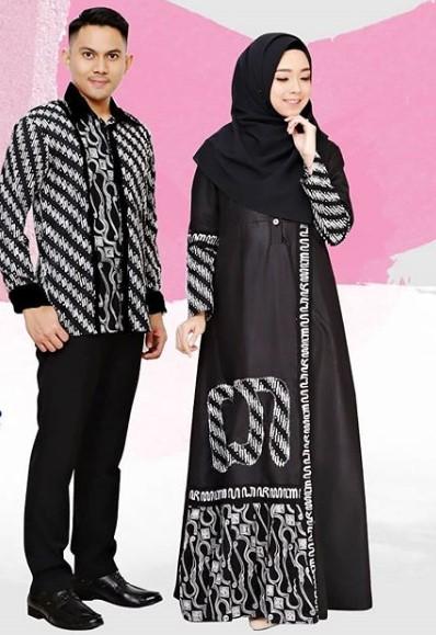 18 Model Baju Batik Untuk Pesta Gamis