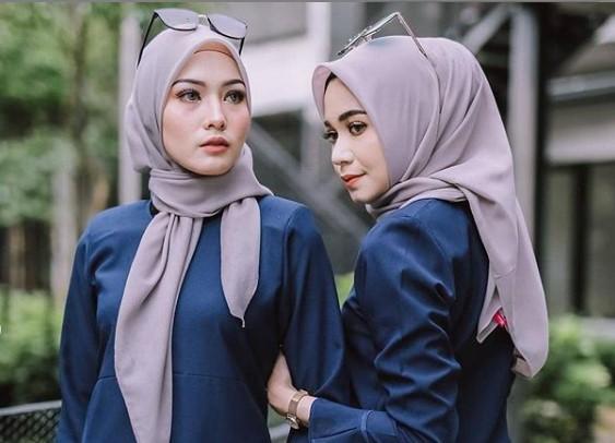 12 Model Baju Dinas Guru Wanita Modern
