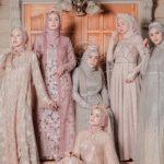 14 Model Kebaya Muslim Pesta Terbaru