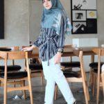 27 Inspirasi Model Baju Muslim Tunic Fashionable