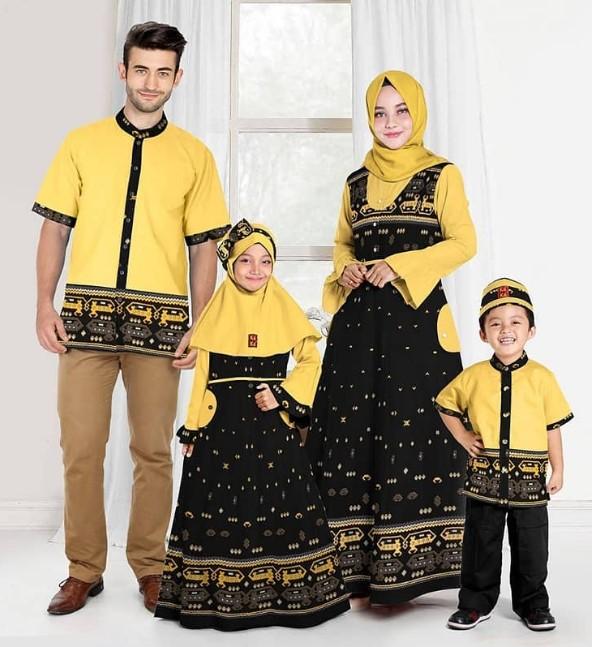 24 Model Baju Sarimbit untuk Ayah, Ibu dan Anak