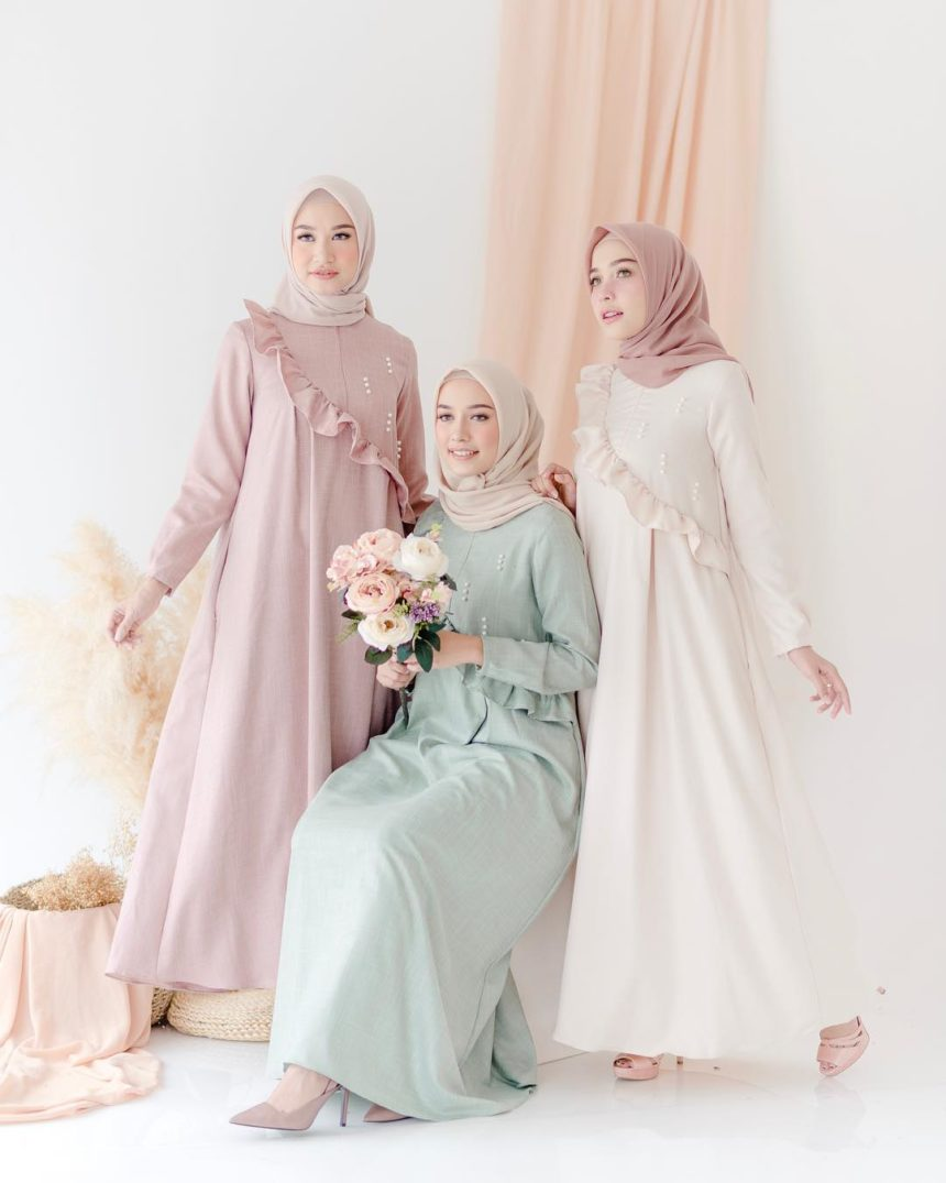 22 Trend Model Baju Dress Terbaru