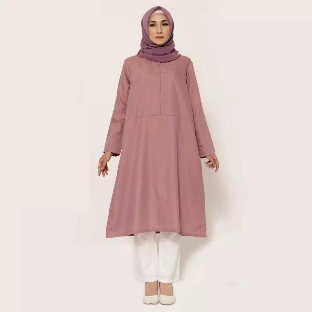 Baju Muslim Ibu Hamil Untuk Bekerja Terbaru