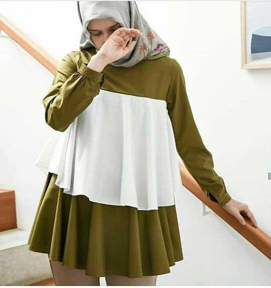 model baju hamil trendy untuk muslimah